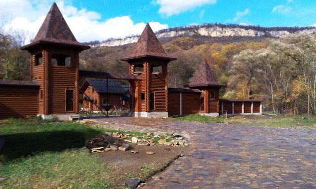 Белая река Даховская Туристический комплекс