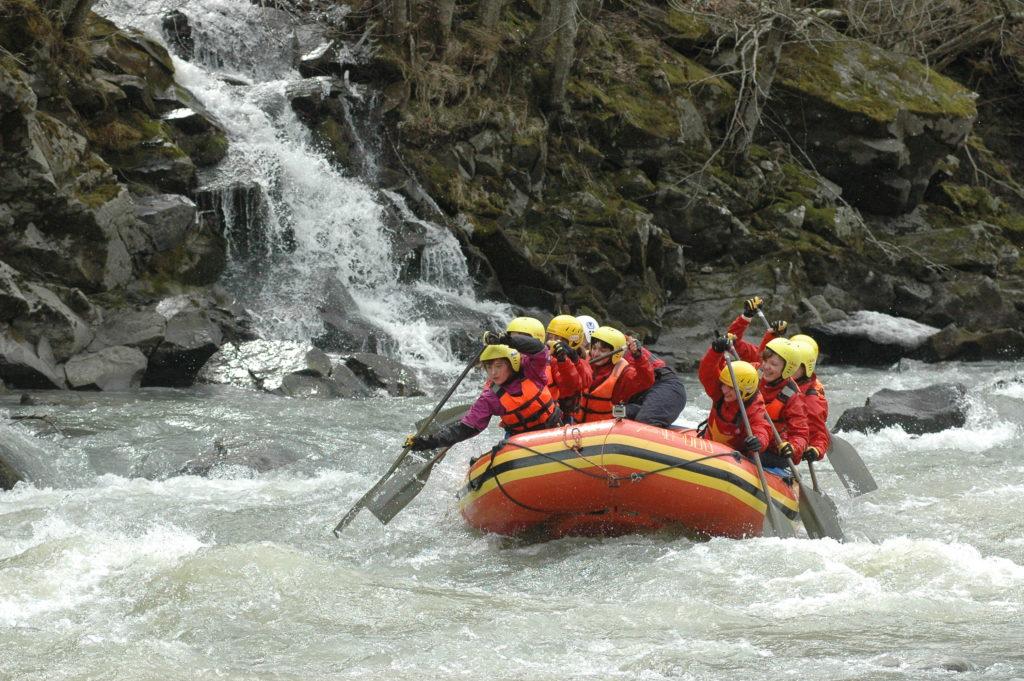Рафтинг - Маршрут Страна водопадов