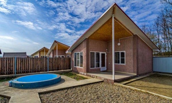 Водная Ривьера: Индивидуальный коттедж с бассейном