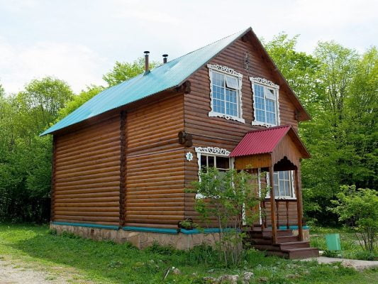Горное Настроение: Двухместный номер в домиках № 2, 3, 7, 9, 10, 11, 12