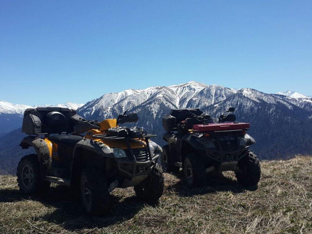 Поездки на Квадроциклах - хребет Ду-ду-гуш