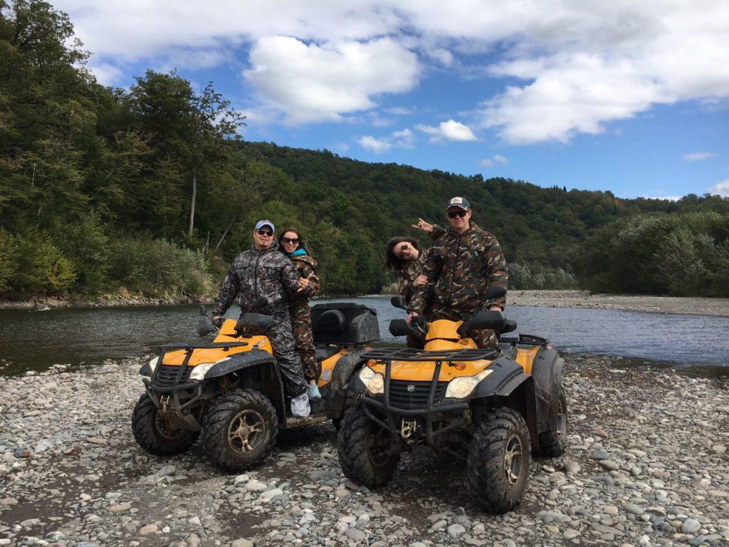 Поездки на Квадроциклах - Лесной заповедник