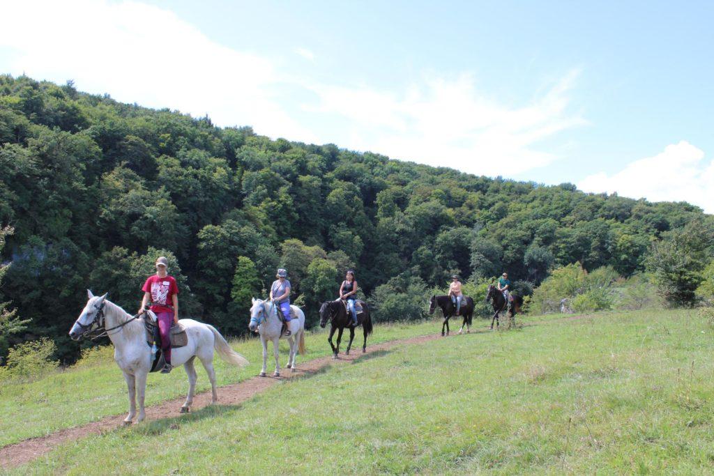 Конные прогулки - Панорама хребта Уна-Коз