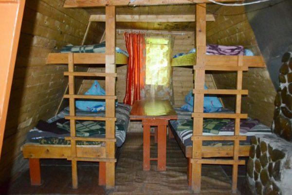 Турбаза Нежная: Домики альпийского типа на 10 мест