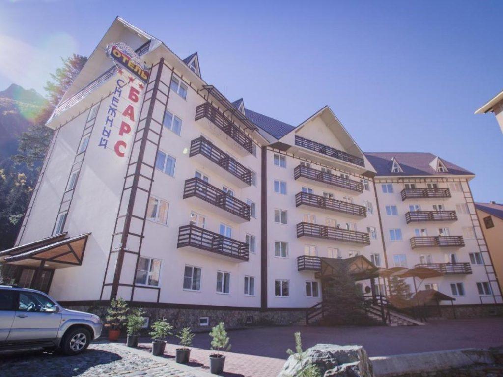 Отель Снежный Барс - Домбай