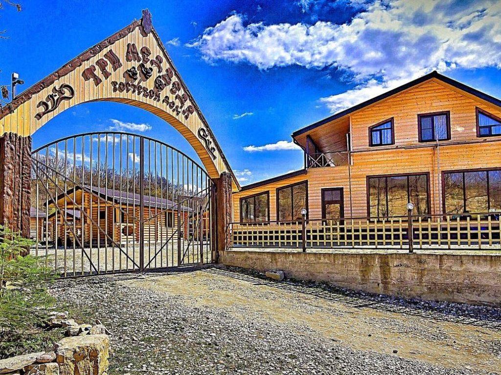 Три Медведя Гостевой дом - Хаджох