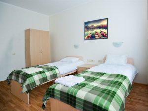 Приют Панды: Эконом отдельные кровати