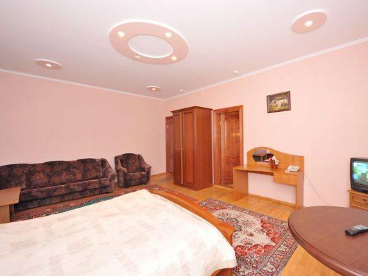 Снежинка: Apartment двухкомнатный № 505. 5 этаж (Корпус № 3)