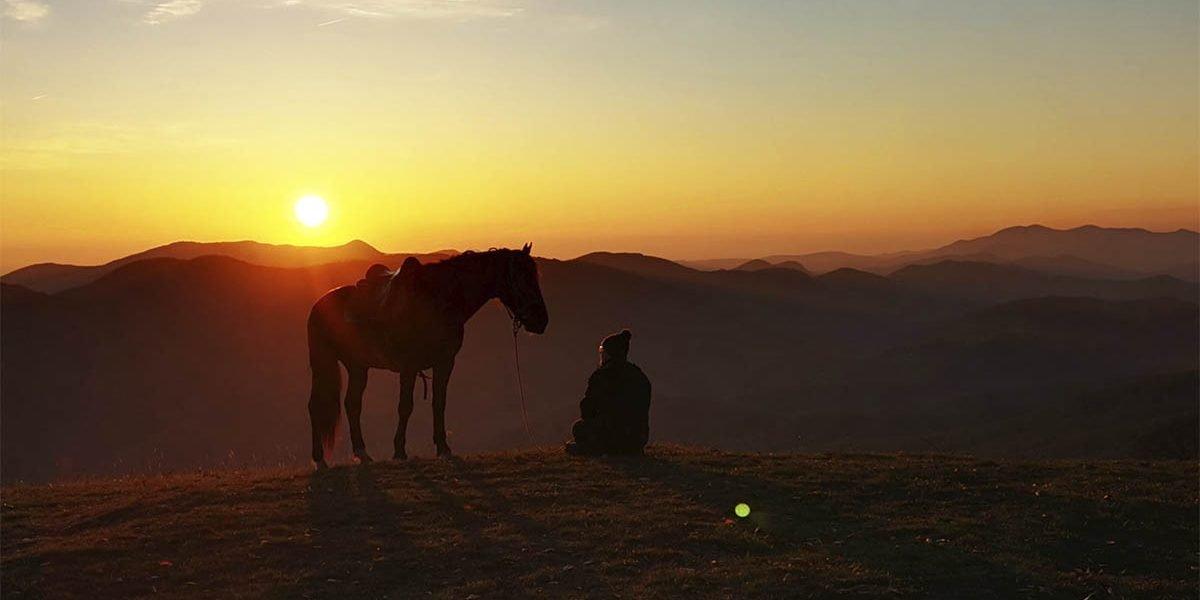 Конный поход в горах