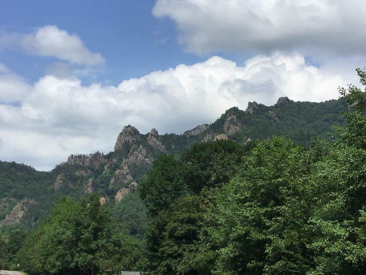 Гора Трезубец в Адыгее