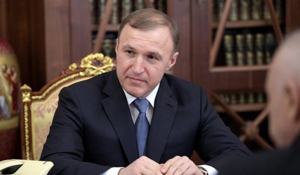 Мурат Кумпилов встретился в Москве с зампредом правительства РФ Дмитрием Козаком